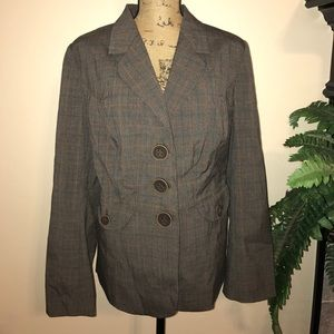 NWOT Lane Bryant Brown Suit Jacket